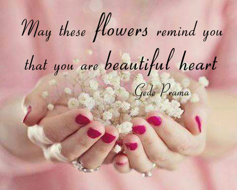 Photo Courtesy Twitter 1207 Beauty Creative Bellofpeace Original Quote Gede Prama